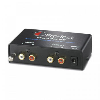 Project Phono Box MM Black - Ortons AudioVisual