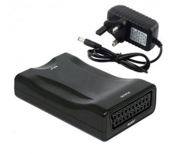 HDMI to Scart Adaptor/Converter with PSU - OrtonsAudioVisual