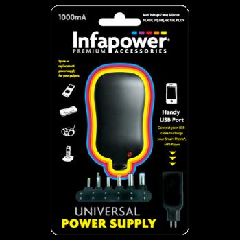 Infapower P002 1000mA Universal Power Supply