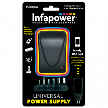 Infapower P003 1500mA Universal Power Supply