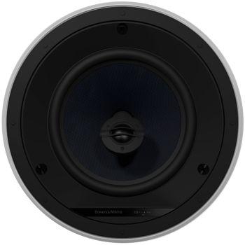 B&W CCM682 In Ceiling Pair Speakers White - Ortons AudioVisual