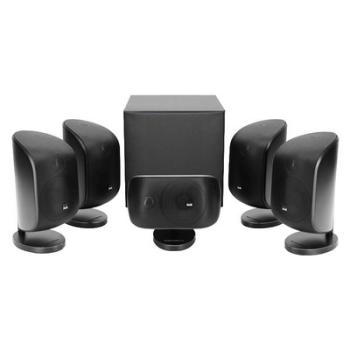 B&W MT50 5.1 Speaker Package - Black - Ortons AudioVisual Online