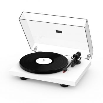 Project Debut Carbon Evo Turntable with 2M-Red Cartridge - Satin White