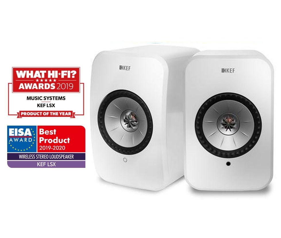 Kef Lsx Wireless Active Speakers Ortons Audiovisual Online