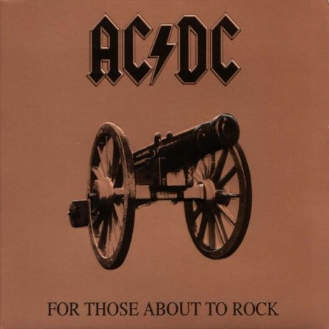 LP AC/DC - For Those About To Rock - Ortons Audio:Visual