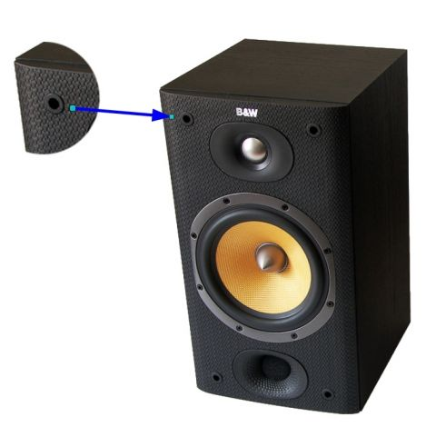 B&W Grille Gromet - OrtonsAudioVisual