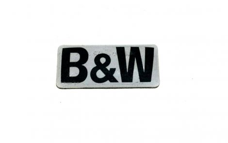 B&W Badge for CCM/CWM Grille - OrtonsAudioVisual