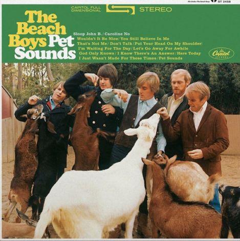 LP Beach Boys / Pet Sounds - OrtonsAudioVisual
