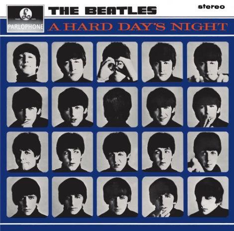 LP Beatles / A Hard Days Night (stereo) - Ortons AudioVisual