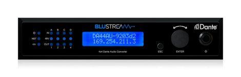 Blustream DA44AU 4x4 Digital Audio to Cat6 Dante Converter
