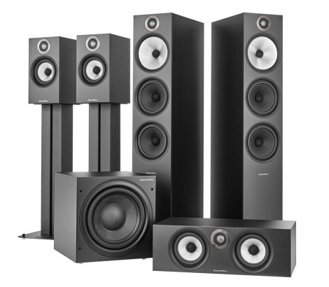 Bowers and Wilkins 600 Anniversary Edition 5.1 Speaker Package B&W