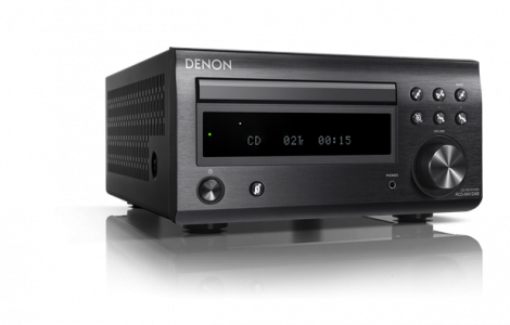Denon RCDM41DAB Mini CD/Receiver Black - OrtonsAudioVisual