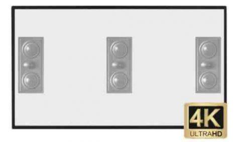 Grandview Edge Acoustic Screen - OrtonsAudioVisual