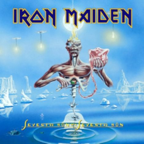 LP Iron Maiden - Seventh Son Of A Seventh Son - Ortons AudioViusual