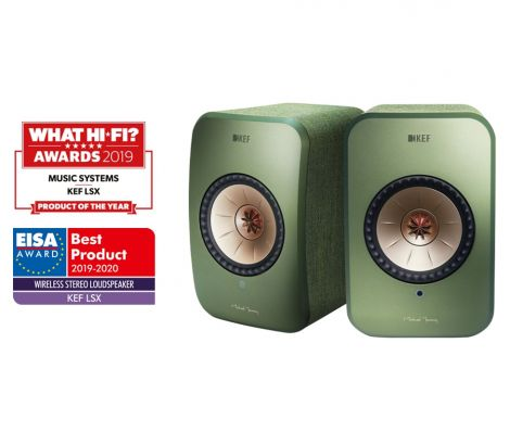 KEF LSX Wireless - OrtonsAudioVisual