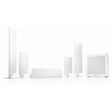 KEF T205 Speaker Package White - Ortons AudioVisual