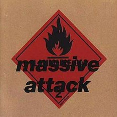 LP Massive Attack - Blue Lines - Ortons AudioVisual