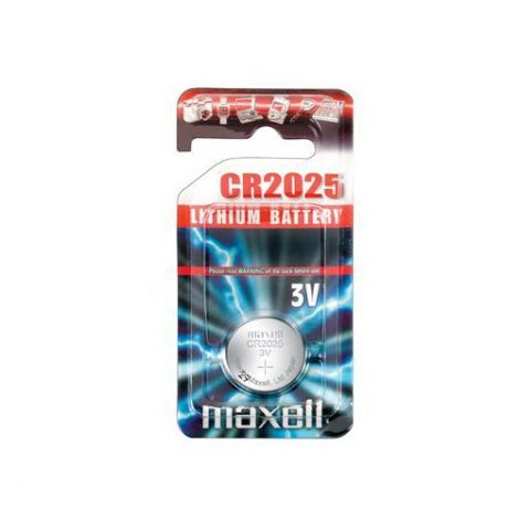 Maxell CR2025 Lithium battery