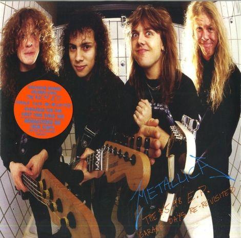 LP Metallica / $5.98 EP Garage Days Re-Revisited