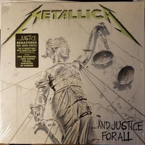 LP Metallica / ...And Justice For All - OrtonsAudioVisual
