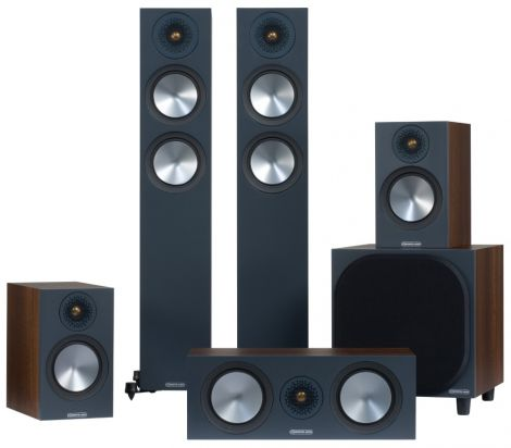 Monitor Audio Bronze 5.1 Speaker Package - OrtonsAudioVisual