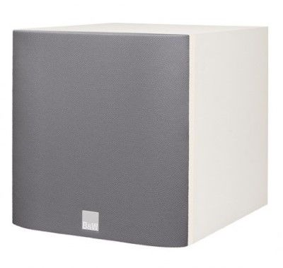 B&W ASW608 Subwoofer Soft White - Ortons AudioVisual