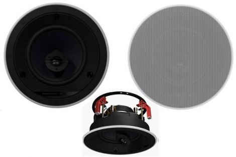 B&W CCM663 Ceiling Speakers White pair - Ortons AudioVisual