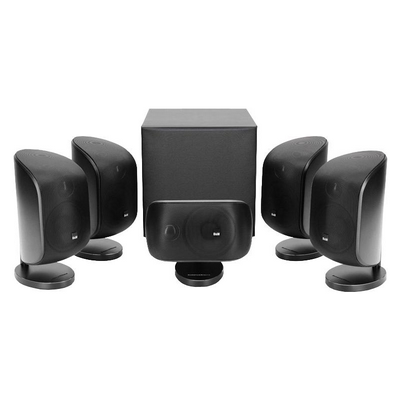B&W MT50 5.1 Speaker Package - Black - Ortons AudioVisual Online