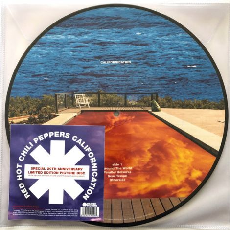 Red Hot Chili Peppers - Californication Picture Discs - OrtonsAudioVisual