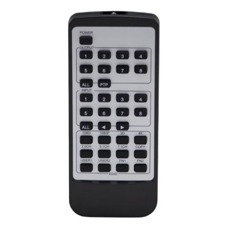 Blustream REM88 Remote Control - Ortons AudioVisual