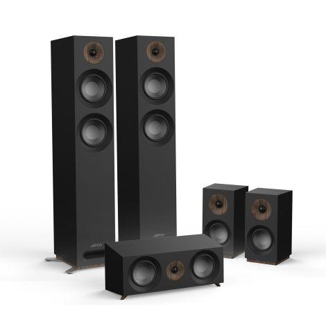 Jamo Studio 807 HCS 5.0 Package Black OrtonsAudioVisual