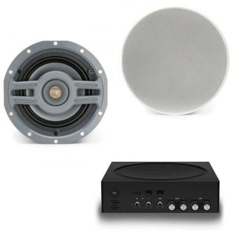 Sonos Amp + 2x Monitor Audio CS160R - OrtonsAudioVisual