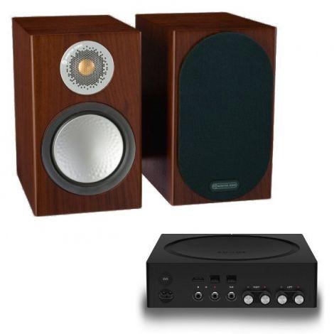 Sonos Amp + Monitor Audio Silver 50 - OrtonsAudioVisual