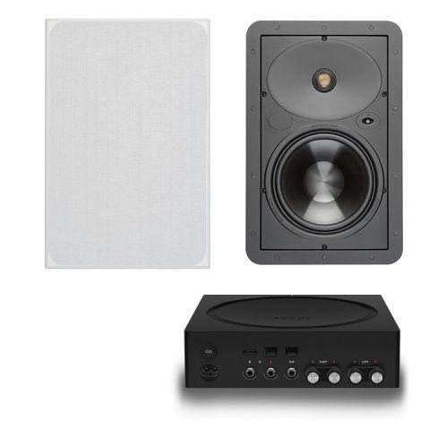 Sonos Amp + 2x Monitor Audio W180  - OrtonsAudioVisual