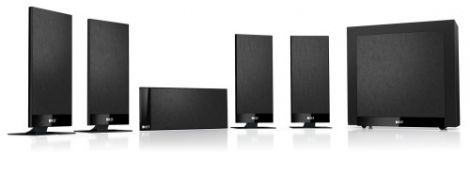KEF T105  5.1 Speaker Package Black