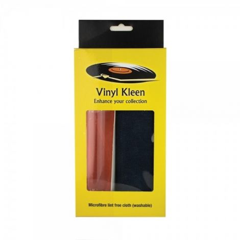 Vinyl Kleen VRK250 Record Cleaning Fluid & Microfibre Cloth - OrtonsAudioVisual